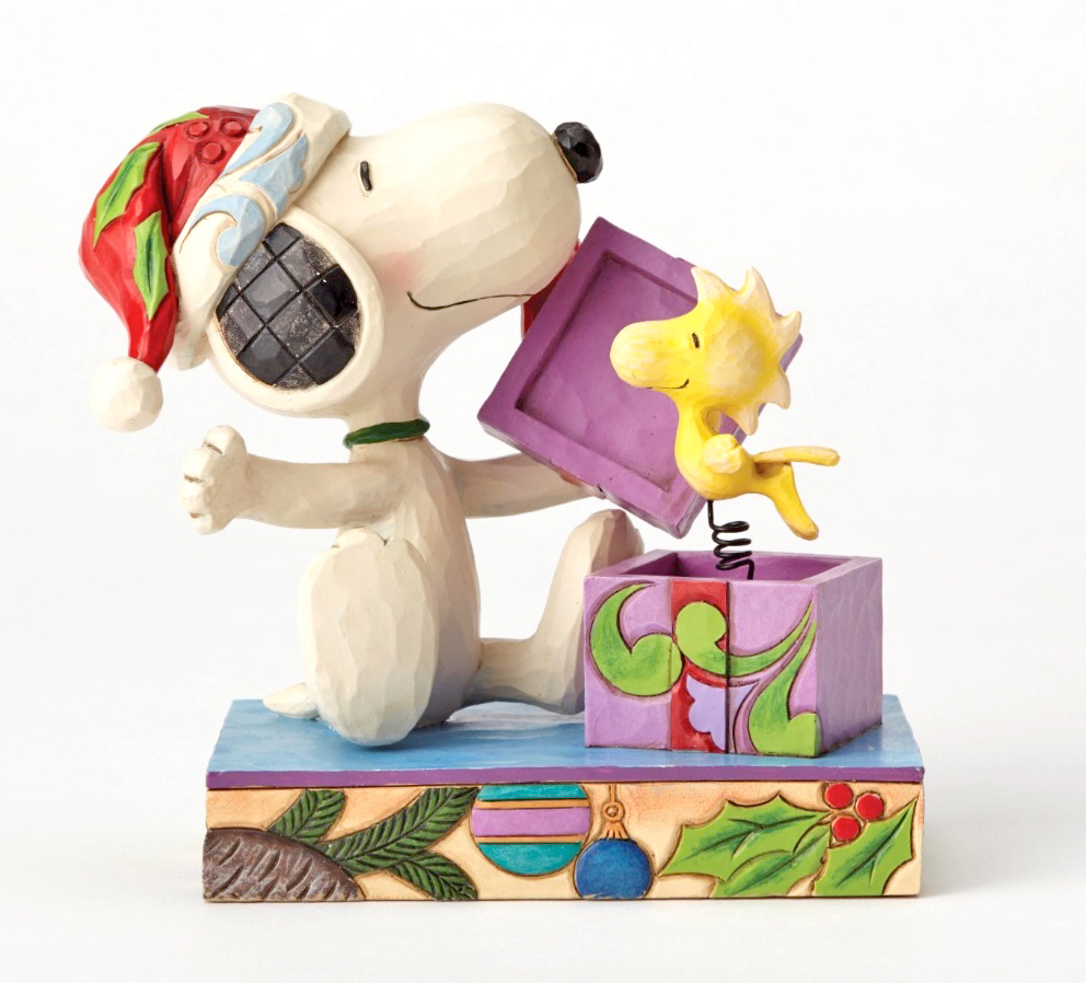 THE PEANUTS Snoopy & Woodstock Weihnachten Überraschung NEU/OVP ...