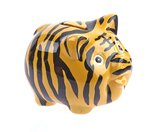 "Wannabe Pig ""Tiger"" Money Bank"