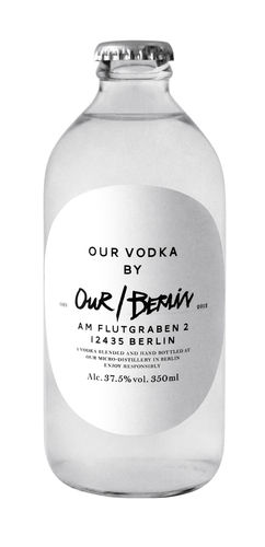 OUR/BERLIN VODKA - Berliner Vodka