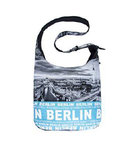 Photo Bag Berlin Skyline Light Blue
