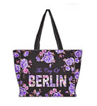 Berlin Flowers City Shopper Lila