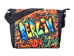 Shoulder bag Berlin Graffiti L