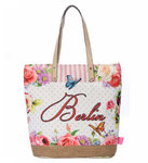 City Bag Berlin Butterfly - pink M