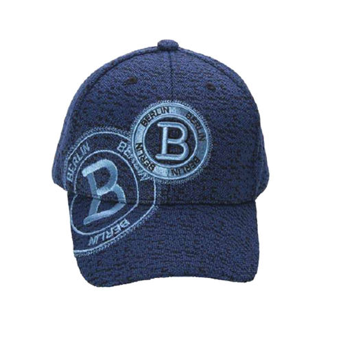 Basecap B Stamp Berlin von Robin Ruth in blau