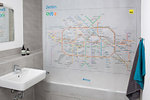Rushower - Shower Curtain Berlin