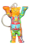 Key chain Squares III - Buddy Bear