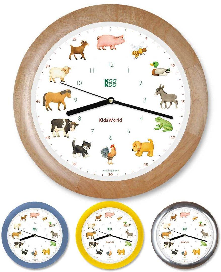 KidsWorld Uhr mit Tierstimmen von KOOKOO