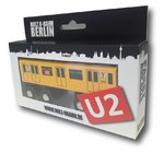 Miniature wooden subway Berlin U2