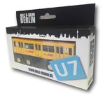 Miniature wooden subway Berlin U7