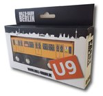 Miniature wooden subway Berlin U9