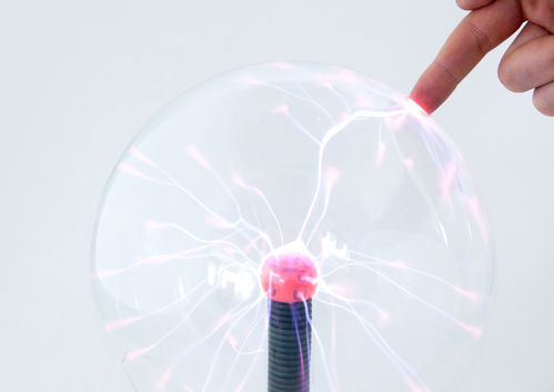 PLASMA BALL LAMP - LARGE