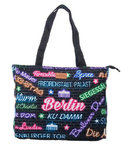 Berlin City Stars Shopper Bag