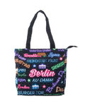 Berlin City Stars Shopper Tasche M