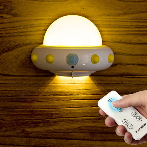 UFO nightlight with remote control