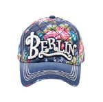 Cap Berlin Flowers by Robin Ruth - multicolor