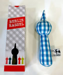 Baby Rattle TV Tower Berlin blue white