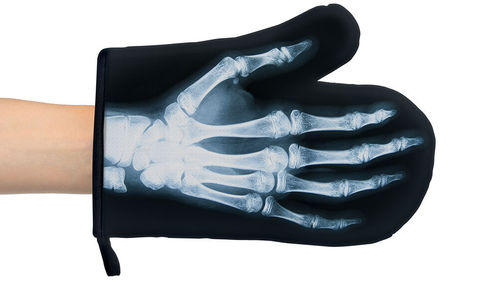 Xray Gloves - Xray design oven gloves