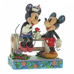 Blossoming Romance (Mickey & Minnie Figurine)