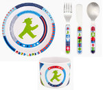 Ampelmann Set - Cutlery, Cup & Dish
