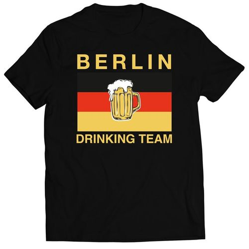 T-Shirt Berlin Drinking Team